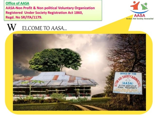 W ELCOME TO AASA…