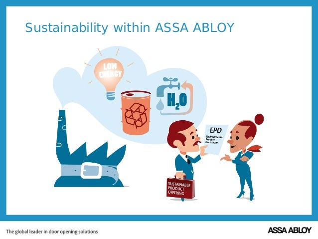 Sustainability within ASSA ABLOY