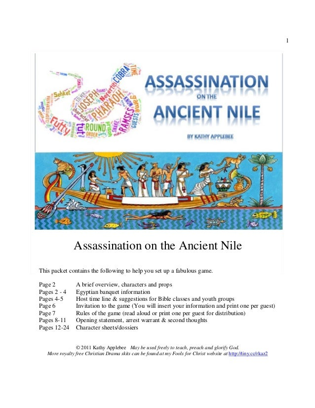 Assassination on the Ancient Nile