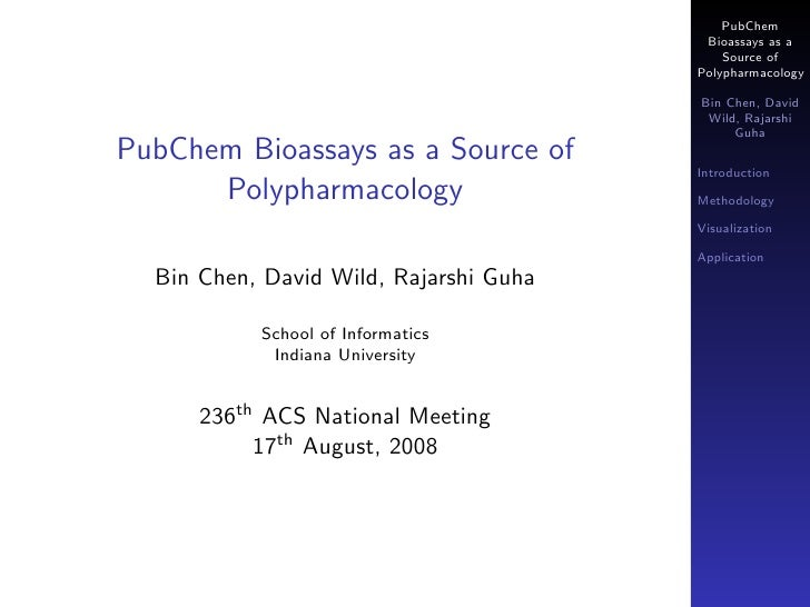 PubChem Bioassays as a Source of Polypharmacology