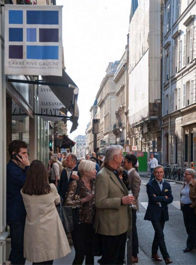 Carré Rive Gauche - Vernissage Métamorphoses