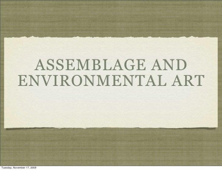 Assemblage 1