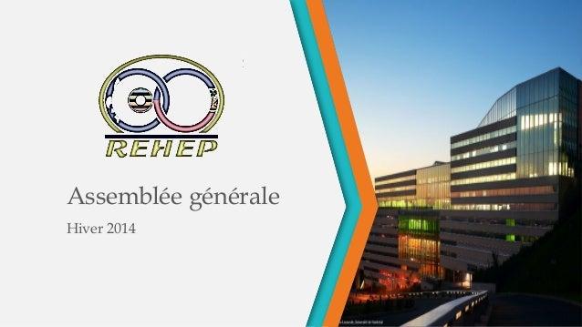 Assemblée générale Hiver 2014