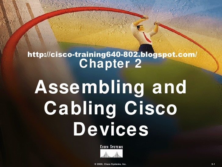 Assembling And Cabling