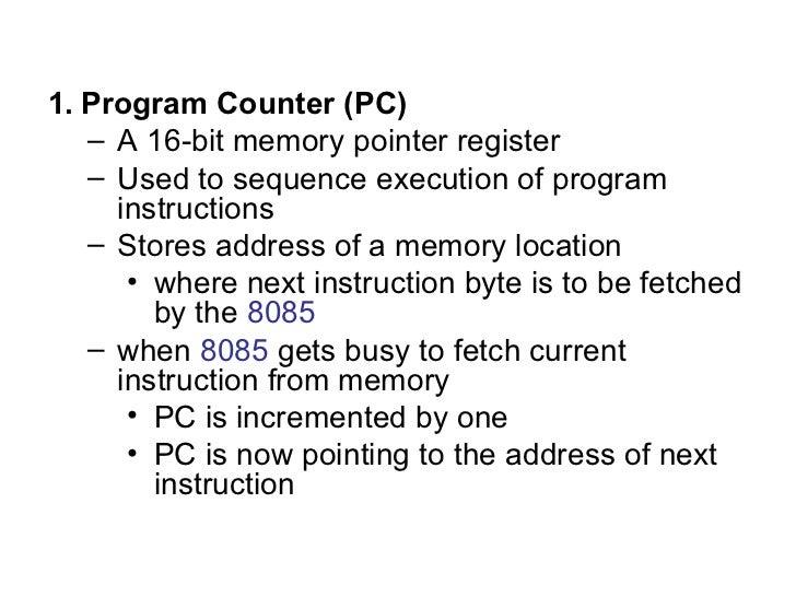 assembly language programming 8085 pdf