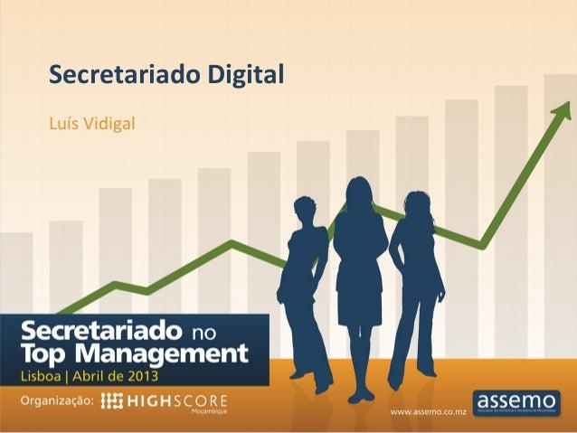 Secretariado Digital Luís Vidigal
