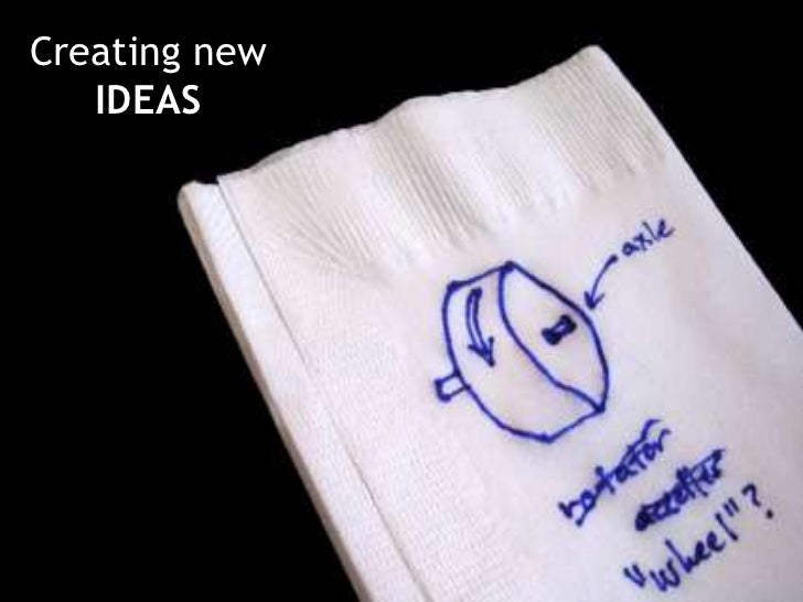 Creating new IDEAS<br />