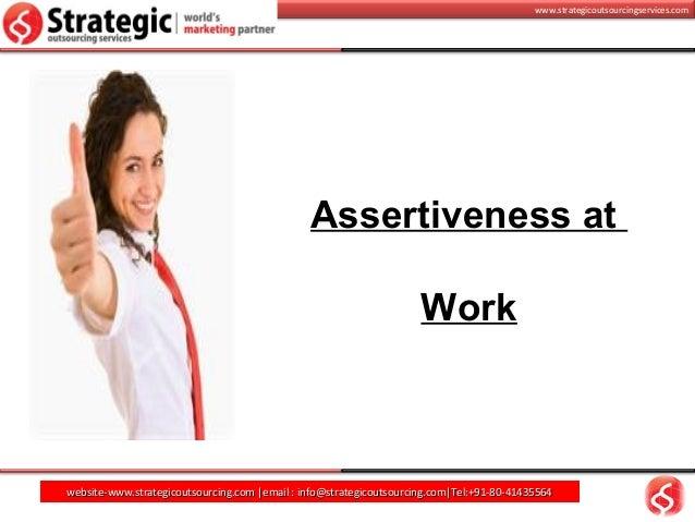 Assertiveness husna sadiya