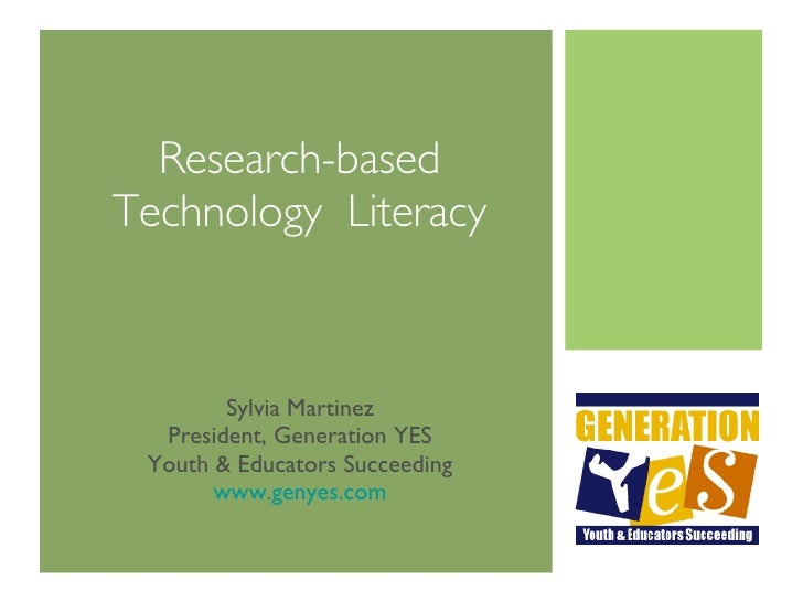 Research-based Technology Literacy Assessment