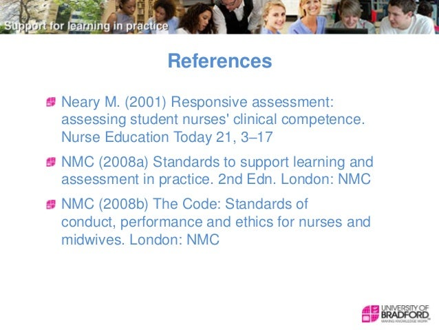 nmc proficiency Nmc programme of change for education prescribing and standards for medicines management  this is intended to support proficiency of.