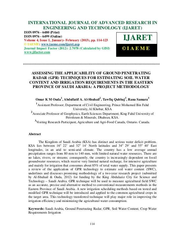 INTERNATIONAL JOURNAL OF January - February(IJARET),IAEME – IN  International Journal of Advanced Research in Engineering ...