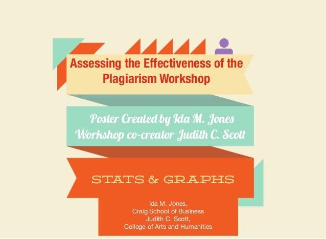 Assessing the plagiarism workshop