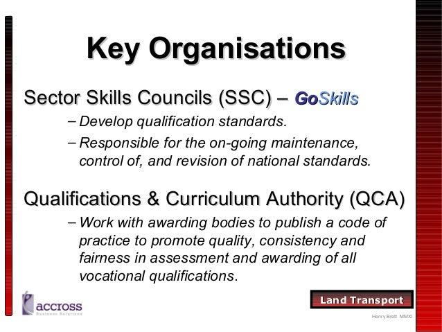 assessing vocational achievement