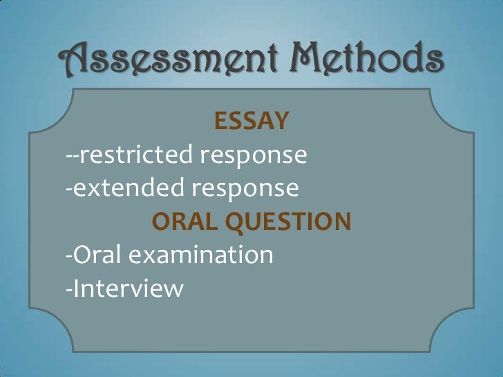 restricted response essays What is restricted response essay 6 page argumentative essay character essay on the outsiders mountain view high school cluster map english essay.