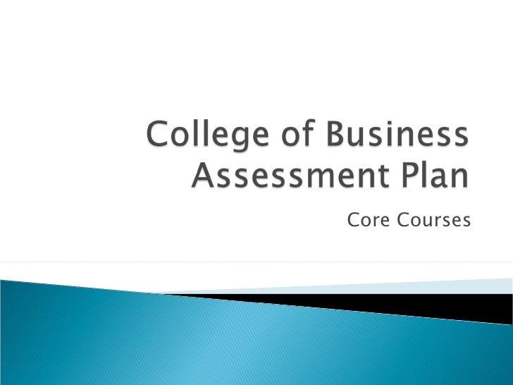 Core Courses