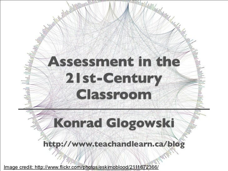 Assessment In The 21st-Century Classroom