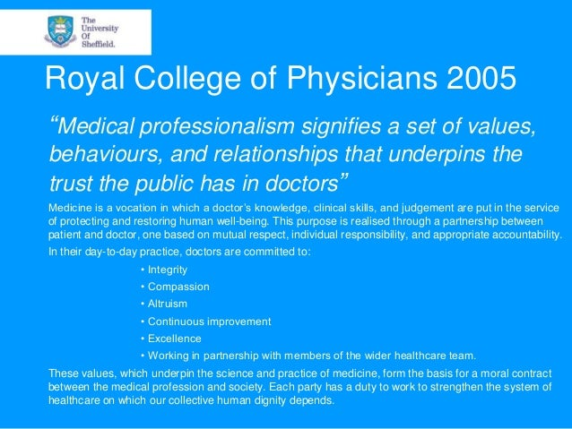 professional and unprofessional behaviour in the medical classroom Being a professional in your chosen field means much more than wearing a coat and tie or possessing a college degree and a noted title professionalism.