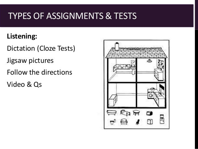 assignment assessment and achievement test Test field assessment of professional knowledge:  assignment test duration up to 3 hours  achievement descriptive.