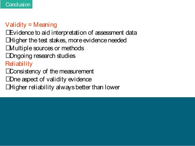 what is the meaning of reliability and validity as used in the research process Problem recognition & definition all research begins with a question defining the goals and objectives of a research project is one of the most important steps in the research process validity and reliability validity refers to the accuracy or truthfulness of a measurement.