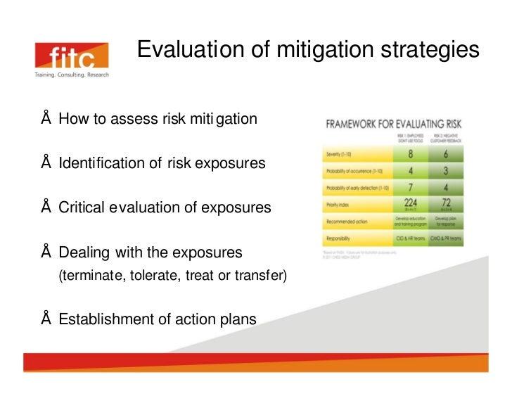 mitigation of organizational risks Natural disasters: mitigating impact, managing risks  natural disasters: mitigating impact, managing  lessons on ways to strengthen disaster risk mitigation.