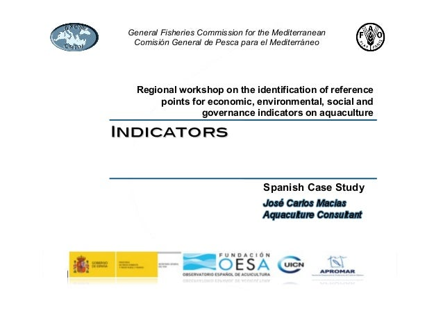 Assessment of sustainability of aquaculture in Spain_JCMacias