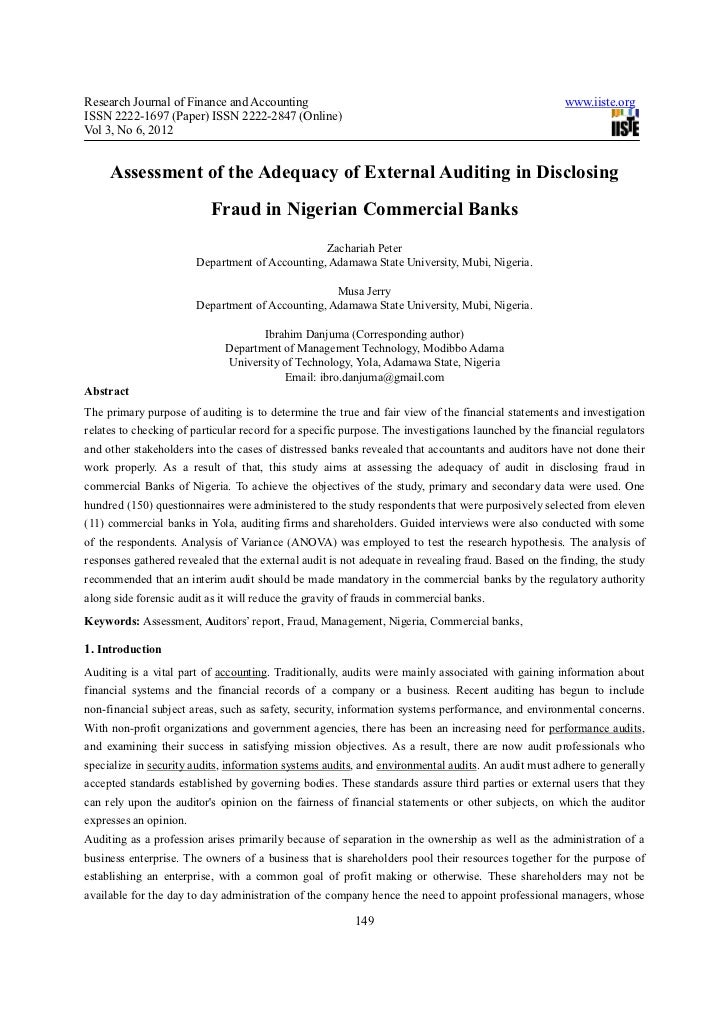 Research Journal of Finance and Accounting                                                            www.iiste.orgISSN 22...