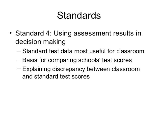 the principles and practices of assessment essay