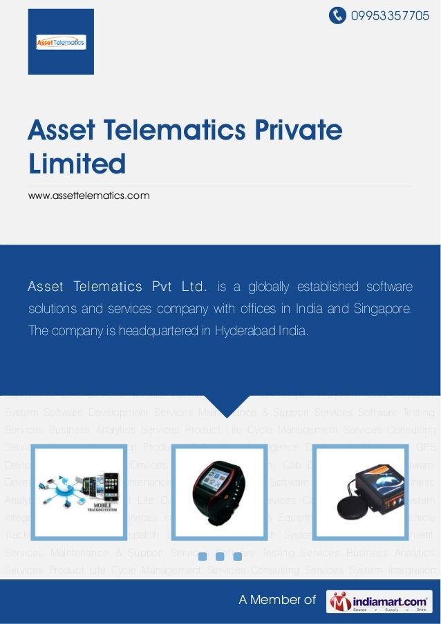 09953357705A Member ofAsset Telematics PrivateLimitedwww.assettelematics.comIntelligence Devices & Equipment GPS Devices V...
