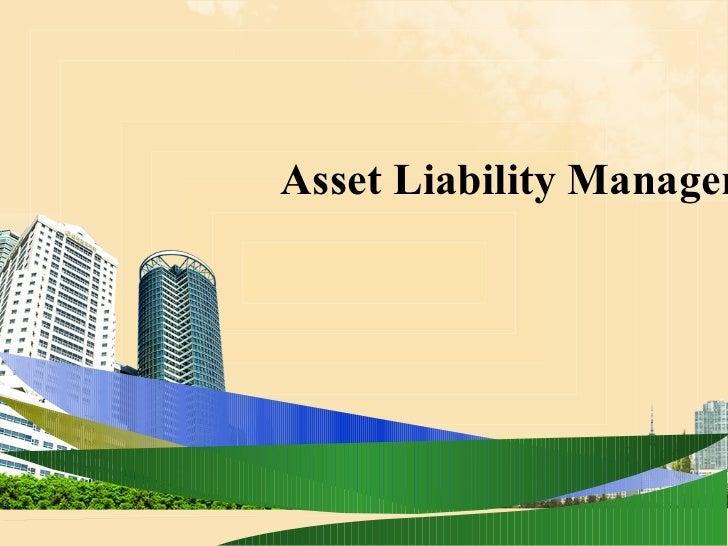 Asset Liability Managem