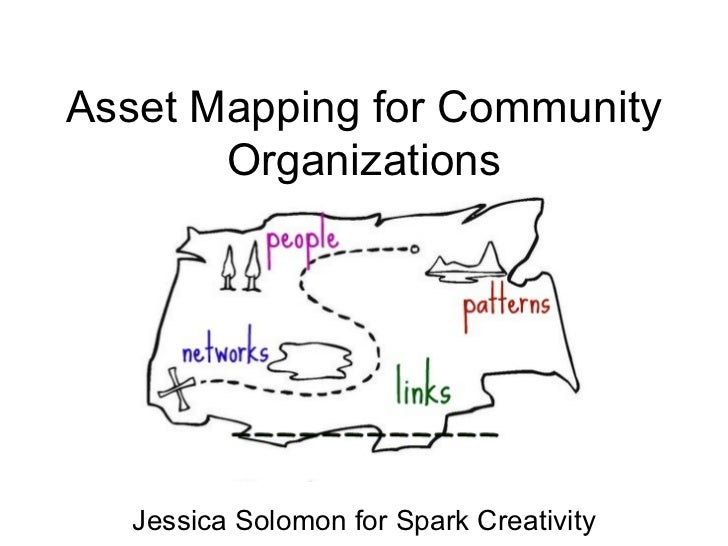 Asset Mapping for Community Organizations Jessica Solomon for Spark Creativity