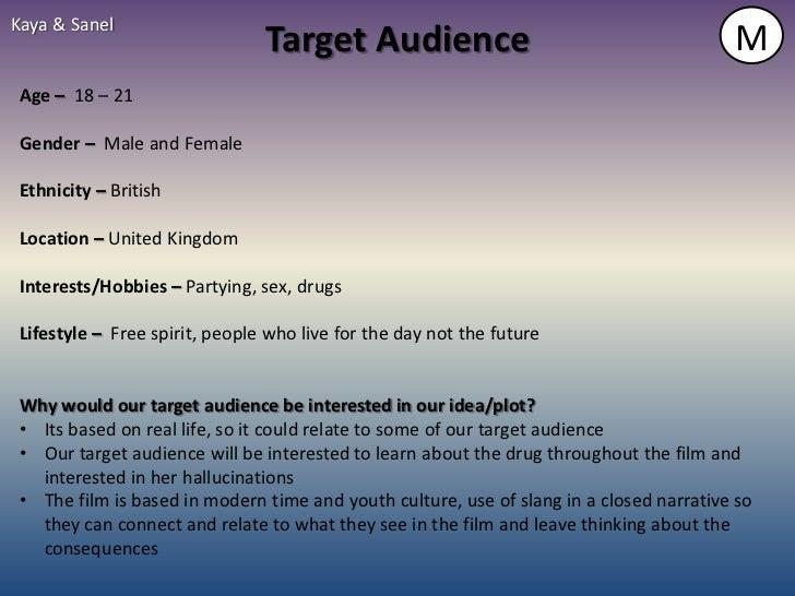 Kaya & Sanel                                Target Audience                                          M Age – 18 – 21 Gende...