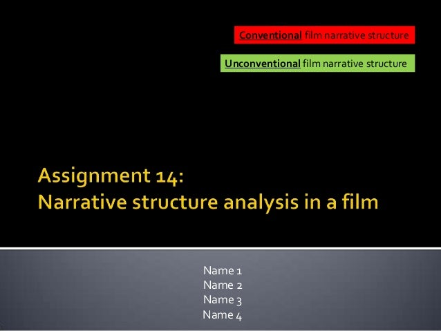 Assign 14   narrative structure analysis in a film