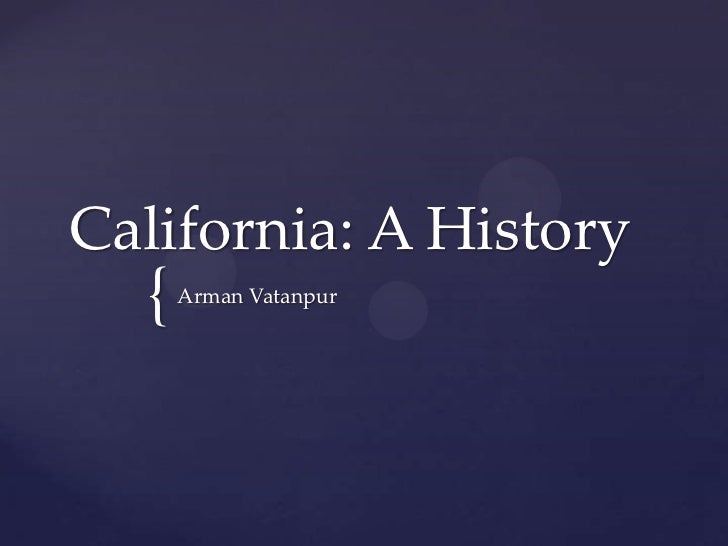 Assign #4p1 california a history