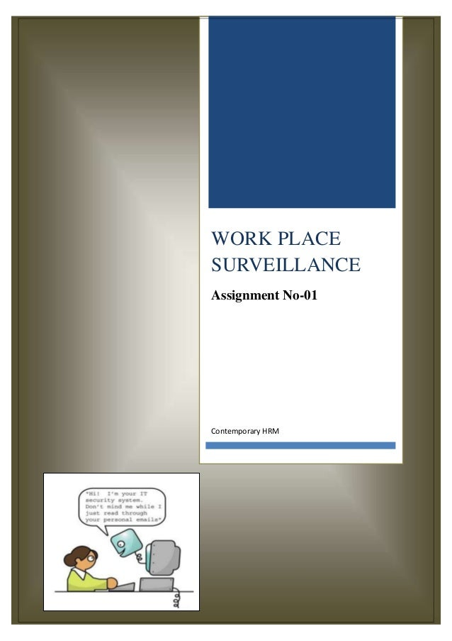 Workplace Surveilance
