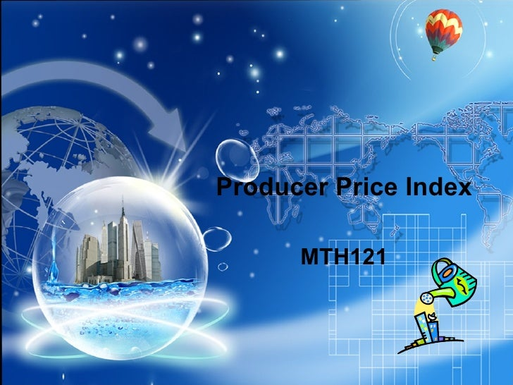 Producer Price Index MTH121