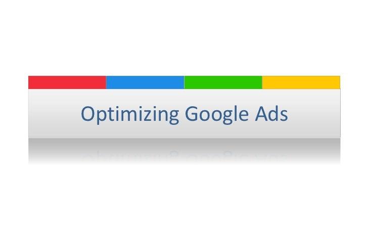 Optimizing Google Ads