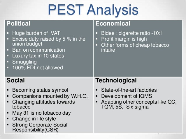 pestle analysis of taj hotel To conduct a pest analysis of a hotel, you should first consider the political situation in the area, including whether local.