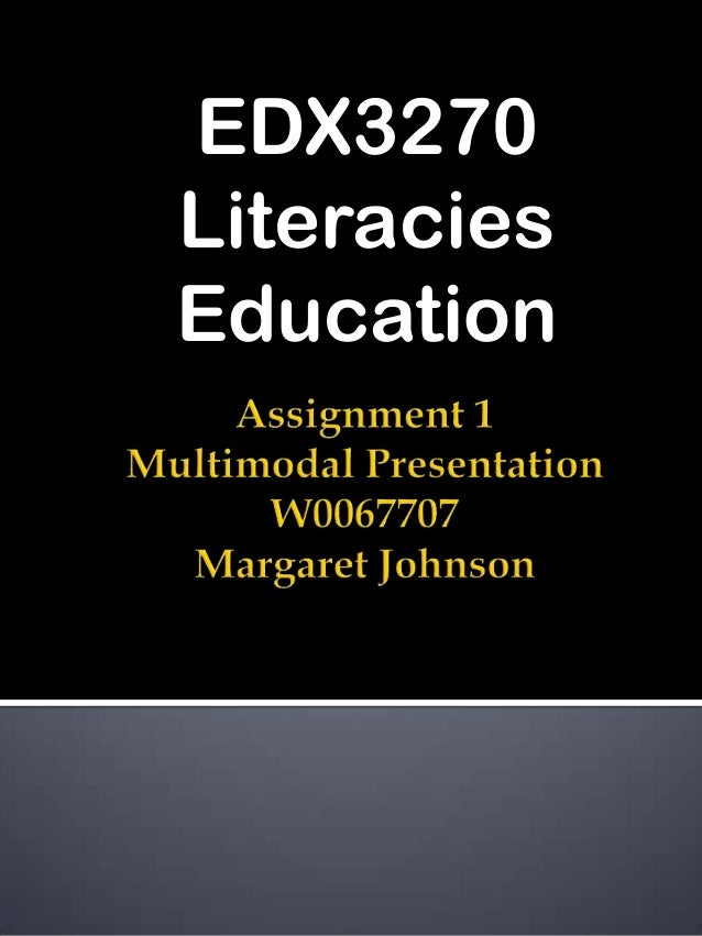 EDX3270LiteraciesEducation