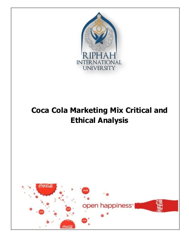 marketing strategy analysis of coca cola Marketing strategy of coca cola 1 executive summary coca-cola is a carbonated soft drink sold in the stores, restaurants, and vending machines of more than 200 countries.