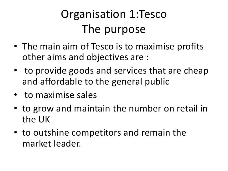 tesco aim to maximise profit The chain's 238 large extra stores have been a drag on group profit and in clarke's eyes the tesco did price drop and price promise and now price reduction.