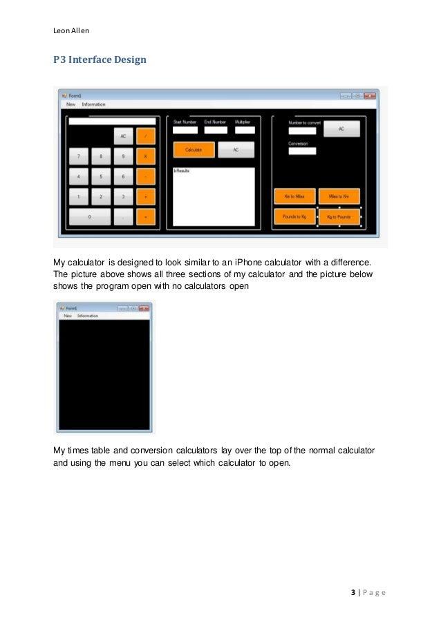 Assignment calculator