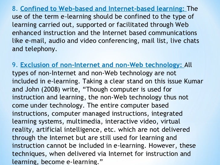 Internet or traditional classroom essay