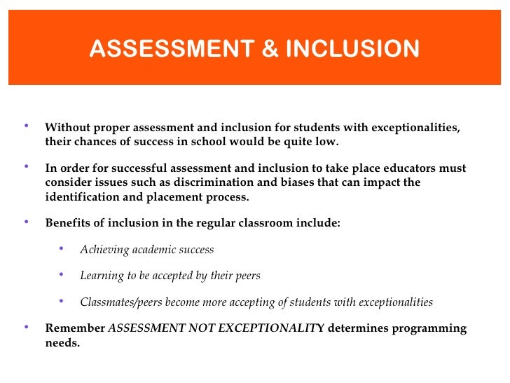 Collaborative Assessment In The Classroom ~ Teacher assessments iep development collaboration