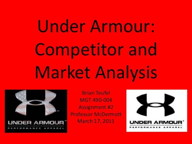 Under ArmourCompetitor Under Armour Slogan