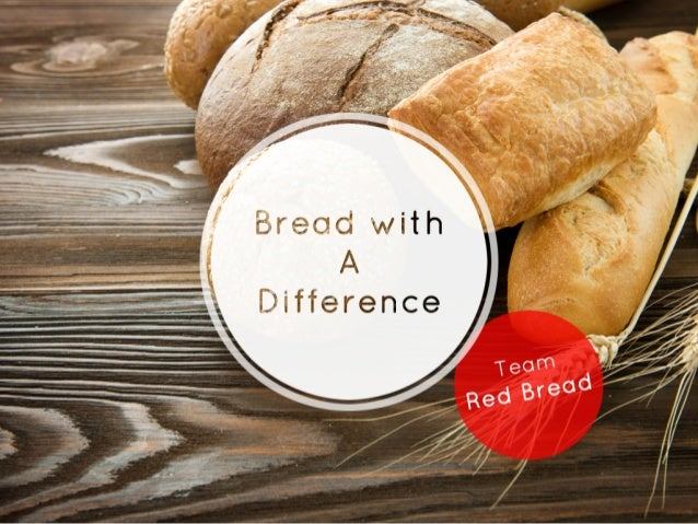 Bread with a difference