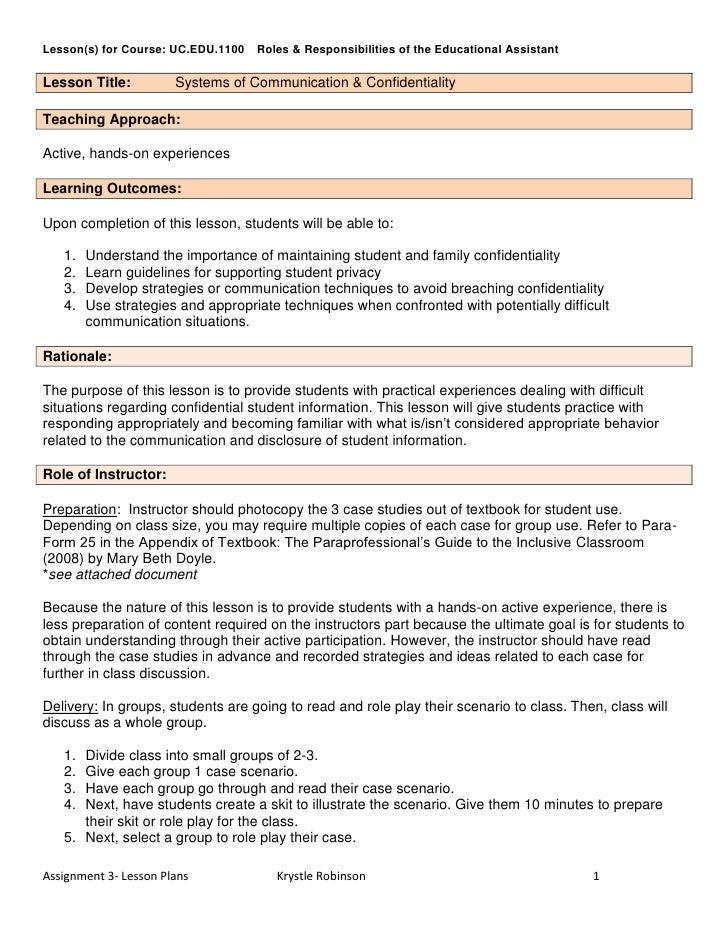 Assignment 3  lesson plans - krystle robinson