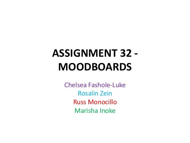 Assignment 32 group