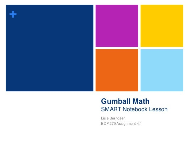 Gumball Math: SMART Board Lesson Plan