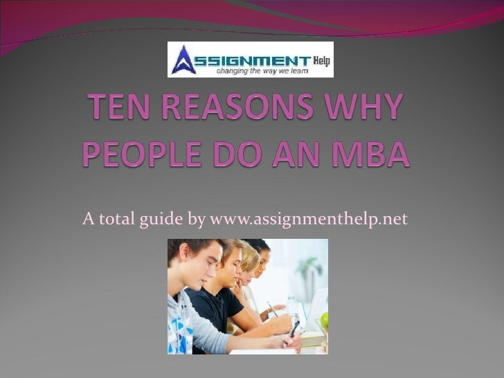 Assignment help and MBA trends in current markets