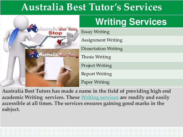 Quality writing services